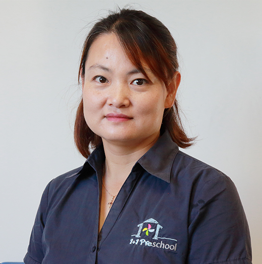 Centre manager Yufan