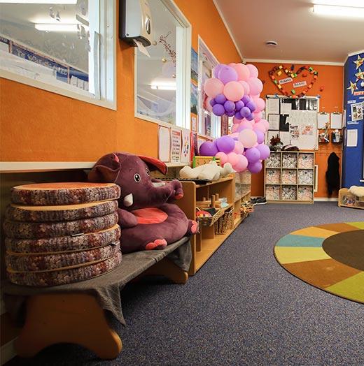 Pukeko Room inside